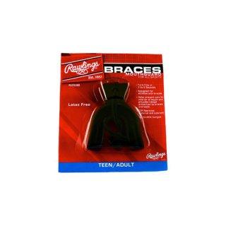 Mundschutz für Zahnspangenträger schwarz