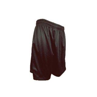 Mesh Shorts schwarz von Teamking