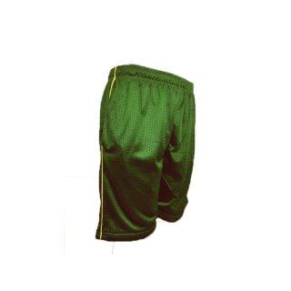 Mesh Shorts grün/gelb von Teamking