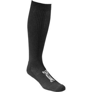 2er Pack Socks High Cut von Spalding schwarz