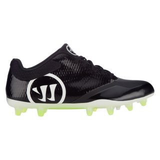 BURN 9.0 Schwarz Low Football Schuhe, 2E