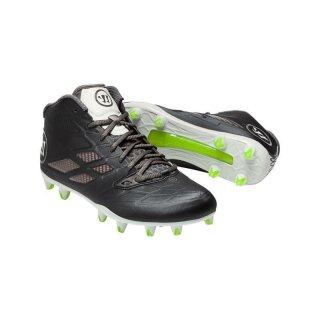 BURN 8.0 Schwarz/Grau Football Schuhe, normal Breit